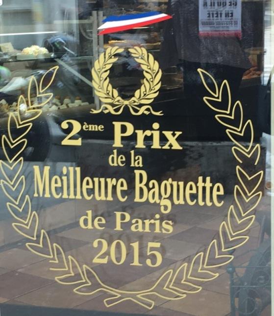 concurso de melhor baguette de Paris